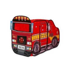 $20 Playhut Big Red Fire Truck Pop Up Play Tent
