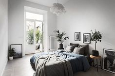 An elegant Stockholm space that's cosy too! | my scandinavian home | Bloglovin'