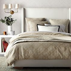 Lune Duvet Cover and Shams | Serena and Lily