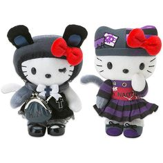 H.NAOTO MEETS HELLO KITTY GOTHIC LOLITA PLUSH TOYS AND PURSES ON EBAY. ($12) ❤ liked on Polyvore featuring stuffed animals, toys, fillers, baby and kids