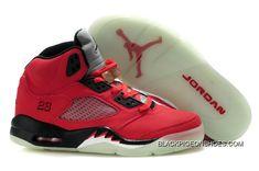 size 40 a8227 6481a Super Deals Air Jordan 5 Retro Red Black Nike Air Jordans, Air Jordans  Women,