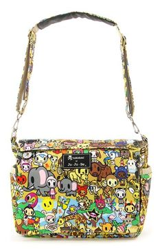 http://www.childrentoystores.com/category/ju-ju-be-diaper-bag/ tokidoki x Ju-Ju-Be 'Better Be' Diaper Bag