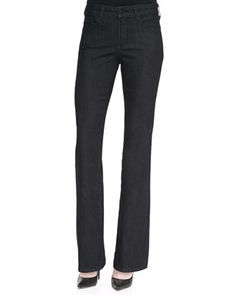 Barbara Dark Enzyme Boot-Cut Jeans by NYDJ at Neiman Marcus.