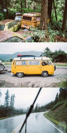 Driving a VW Bus to the Edge of the World Volkswagen, Vw T1, T2 Bus, Kindergarten Art Projects, Bus Travel, Travel Tips, Surf Trip, Bath And Beyond Coupon, Vw Camper