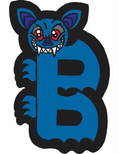 B Bat Alphapet by Brendan Klos