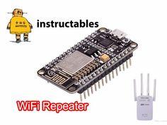 Picture of POWERFUL Wi-Fi REPEATER (NODE-MCU)