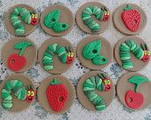Edible Cupcake Toppers Very Hungry Caterpillar Inspired Theme 3