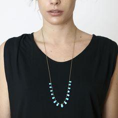 Turquoise Necklace - DARA Artisans
