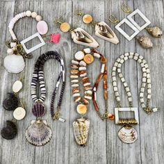 High Tide DIY Necklaces | Halcraft Collection - Owners & Creators of Bead Gallery™ Diy Necklace Designs, Purple Dye, Chain Nose Pliers, High Tide, Shell Pendant, Diy Jewelry Making, Beach Jewelry, Round Beads, Topaz