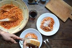Think you know how to prepare perfect pasta and tomato sauce? Try this recipe direct from Rachel's kitchen in Rome....