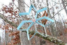 DIY Snowflakes  : DIY Cookie Cutter Paper Snowflake