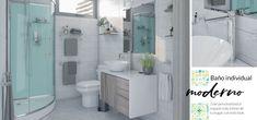 Baño individual moderno. Con toda tu persolaidad, actual, que no deja nada al azar. Tu baño lleno de detalles. Alcove, Bathtub, Bathroom, White Bathroom, Space, Meals, Trendy Tree, Standing Bath, Washroom
