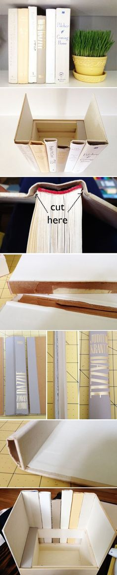 These 22 fun and easy DIY craft ideas to make with old books will liven up any room in your home and don't cost a lot to make.