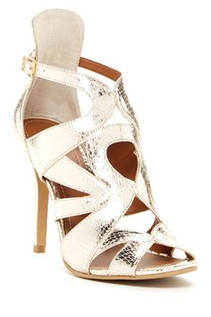 Mindy Metallic Sandal by Tesori on @HauteLook