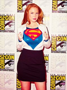Molly Quinn at Wondercon for Superman Unbound