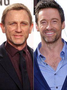 ダニエル・クレイグ(Daniel Craig)&ヒュー・ジャックマン(Hugh Jackman)