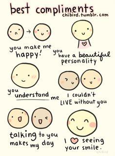 heartfelt compliments