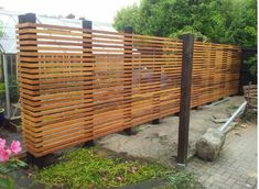 Fence screening