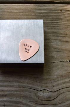 Custom Guitar Pick - For Him - Musicians - Music