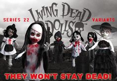 Dolls & Bears Dynamic Living Dead Dolls Eggeorcist As White Rabbit Collectors Item Alice In Wonderland