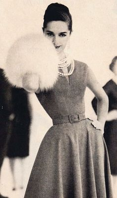 1950s moda