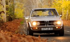 Experience A Drive in Hungary with Four Classic Alfa Romeos - Photography by Máté Boér