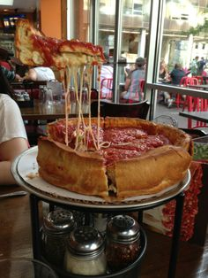How can you not want to try a slice of this beast?? Here is a list of some of the best pizza that you can find in Chicago: http://www.thechicagotraveler.com/2014/03/famous-chicago-pizza-2014/