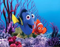 """The greatest love quotes from Disney Films - Disney Film Finding Nemo. Dory: """"When I look at you, I can feel it. I look at you, and I'm home."""""""