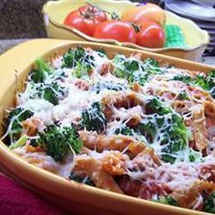 Cheesy Chicken and Broccoli Pasta Bake @ allrecipes.co.uk
