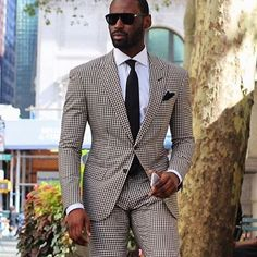 """Dress How You Want To Be Addressed"". Amazing suit style from our friend @davidson_frere #vodrich"