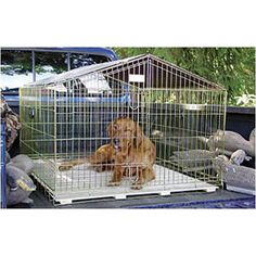 """Lucky Dog Travel Containment 40 """"B x L Schwarz , . Lucky Dog Travel Containment 40 """"B x L Schwarz , Lucky D Cheap Dog Kennels, Luxury Dog Kennels, Diy Dog Kennel, Igloo Dog House, Dog Houses, Dog Cages, Pet Cage, Small Dog Cage, Airline Pet Carrier"""