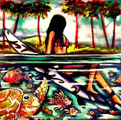 surfing - Kim Clayton