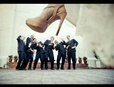 Quirky must-do wedding photo