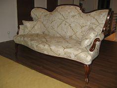 Uusrokokoo-sohva 1800-l loppu