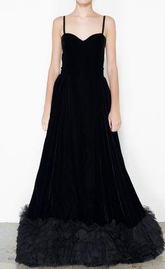 Yves Saint Laurent Rive Gauche Black Dress