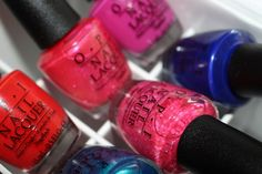 opi-brights-collection-review New Nail Polish, Nail Polish Collection, Opi Nails, Hard Candy, Essie, Pedicure, Nail Colors, Swatch, Bright