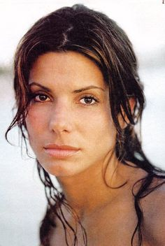 Sandra Bullock. My favorite actress. She is has natural beauty and seems so down to Earth.