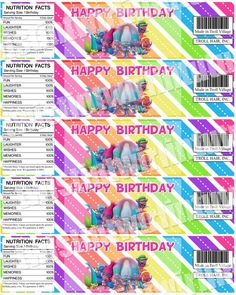 Trolls Birthday Party Printables