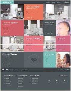 Trama - Childrens Furniture - Webdesign inspiration www.niceoneilike.com