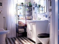 16 Chic Ikea Bathroom Ideas: 5 Popular Suggestions Is your bathroom in dire need of some new remodeling? There are reasons why people go with the theme of Ikea bathroom. See some ideas here. Small Space Bathroom, Ikea Bathroom, Small Bathroom Storage, Ikea Storage, Bathroom Design Small, Diy Bathroom Decor, White Bathroom, Bathroom Furniture, Bathroom Ideas