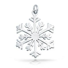 Classic 925 Sterling Silver Snowflake Pendant Classic 925 Sterling Silver Snowflake Pendant Charm Chain Measure: inch L x inch W Weight: 2 gram Material: Sterling Silver, Rhodium Plated Jewelry Necklaces Bling Jewelry, Charm Jewelry, Pendant Jewelry, Jewelry Gifts, Chain Pendants, Jewelry Necklaces, Bling Bling, Snowflake Jewelry, Holiday Jewelry