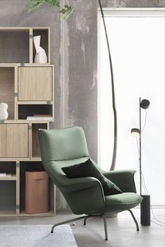 With a large and sheltering backrest that flows into easy armrests and a generous seat, Doze summons unfettered relaxation and well-appointed comfort. #AplusR #moderndesign #Interiordesign #modernchair #loungechair #modernseating #readingchair #libraryideas #homeoffice