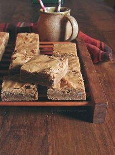 brown sugar + rum blondies :: une gamine dans la cuisine