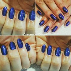 Remplissage gel + gelcolor by O.P.I effet cat eyes Cat eyes nail , blue nails , effet oeil de chat , opi , nails