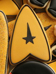 Star Trek Insignia Cookies