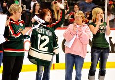 To the women who bring us to games, practices and cheer us on every step of the way. Thank you, #HockeyMoms! Minnesota Wild, Cover Photos, Hockey, Cheer, Bring It On, Faces, Facebook, Mom, Fashion