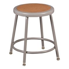 """Norwood Commercial Furniture Metal Lab Stool - Adjustable Height (18 1/2"""" - 26 1/2"""" H) https://www.schooloutfitters.com/catalog/product_info/pfam_id/PFAM31452/products_id/PRO42930"""