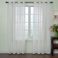The lovely Curtain Fresh Odor Neutralizing Sheer Curtain Panels are not only stylish additions to your home, but they also make your rooms smell fresh. Innovative Arm and Hammer technology neutralizes odors caused by cooking, pets, smoke and mold. Cute Curtains, Beautiful Curtains, Hanging Curtains, Swag Curtains, Sheer Curtain Panels, Sheer Curtains, Panel Curtains, Window Panels, Thing 1