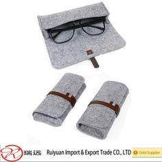 2015 Alibaba Newest Style !!! Handmade Light Grey Felt Sunglasses Case For Promotion - Buy Felt Sunglasses Case,Handmade Light Grey Felt Sunglasses Case,Felt Sunglasses Case With A Brown Leather Strap Product on Alibaba.com