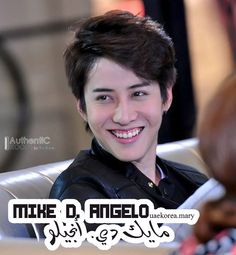 Inviting the Thai singer\actor Mike D. Angelo to UAE ...